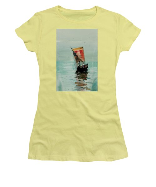 Boat Women's T-Shirt (Athletic Fit)