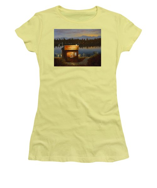 Boat Rentals Women's T-Shirt (Athletic Fit)