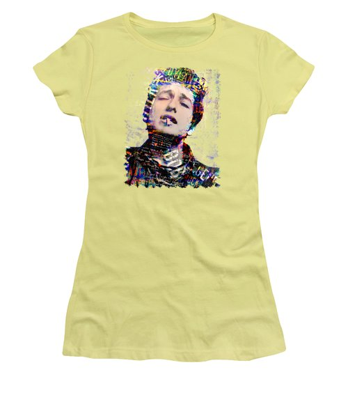 Bob Women's T-Shirt (Junior Cut) by Mal Bray