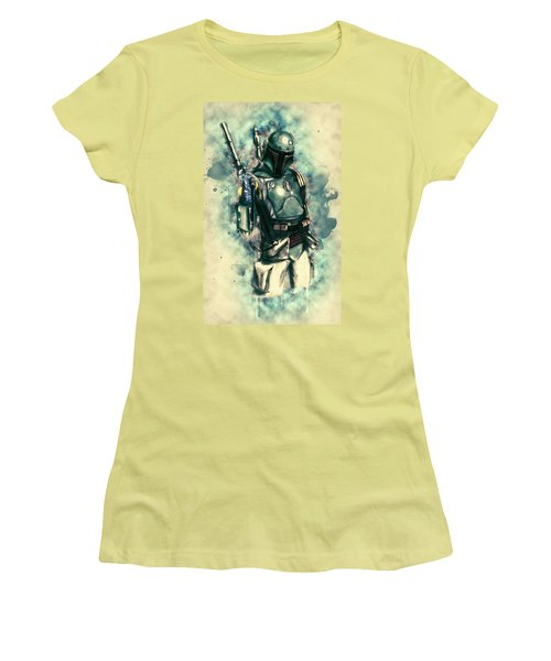 Boba Fett Women's T-Shirt (Athletic Fit)