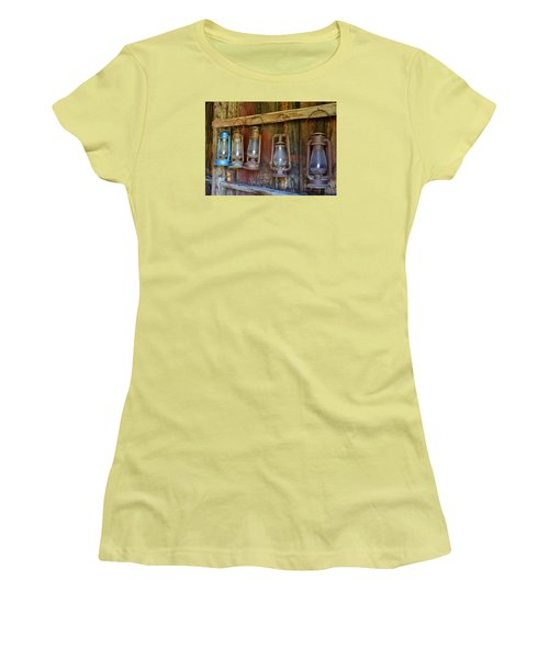 Bodie Blue Light Special Women's T-Shirt (Athletic Fit)