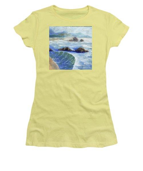 Bodiga Bay #2 Women's T-Shirt (Junior Cut) by Randy Sprout