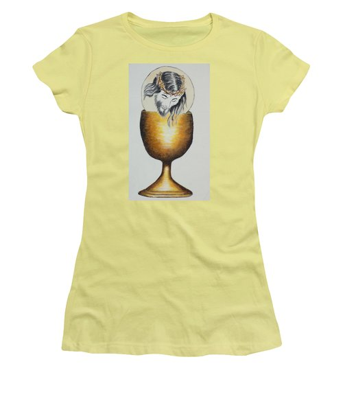 Body, Blood, Soul And Divinity Women's T-Shirt (Junior Cut)