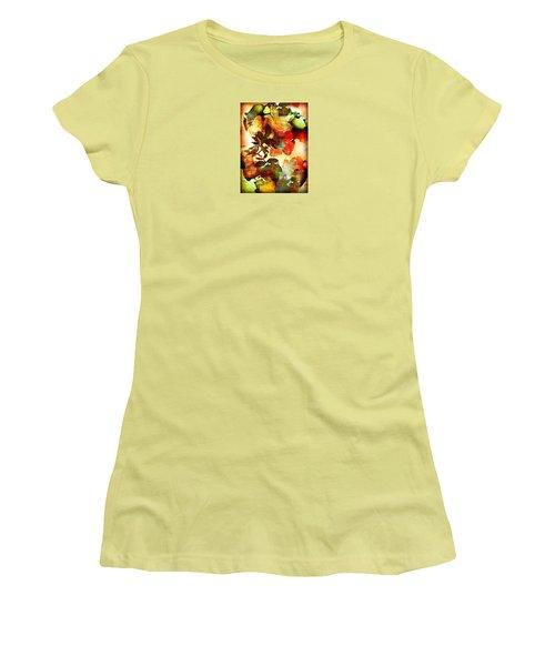 Women's T-Shirt (Junior Cut) featuring the photograph Bokeh Blossoms by Robin Regan