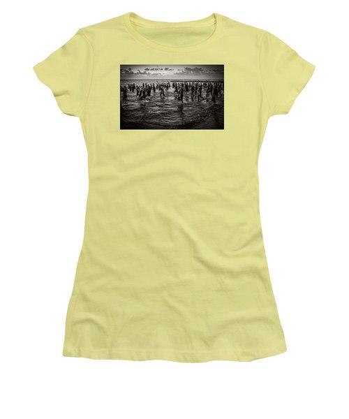 Bone Island Triathletes Women's T-Shirt (Athletic Fit)