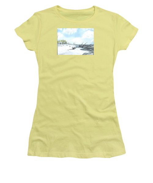 Bone Yard At Capers Island Women's T-Shirt (Athletic Fit)
