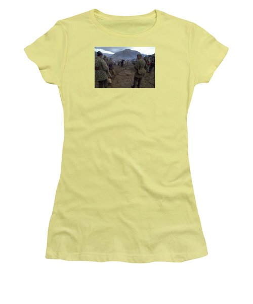 Border Control Women's T-Shirt (Athletic Fit)