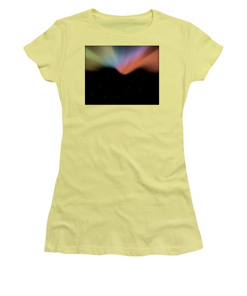 Borealis Women's T-Shirt (Junior Cut) by Carol Crisafi