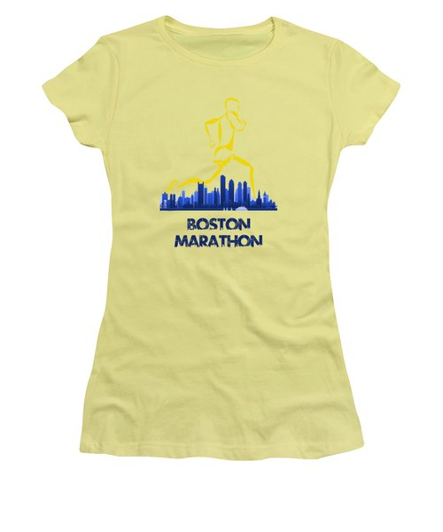 Boston Marathon5 Women's T-Shirt (Athletic Fit)