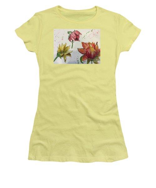 Botanicals Women's T-Shirt (Athletic Fit)