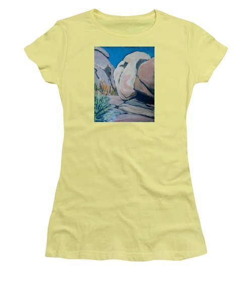 Boulder Women's T-Shirt (Junior Cut) by Richard Willson