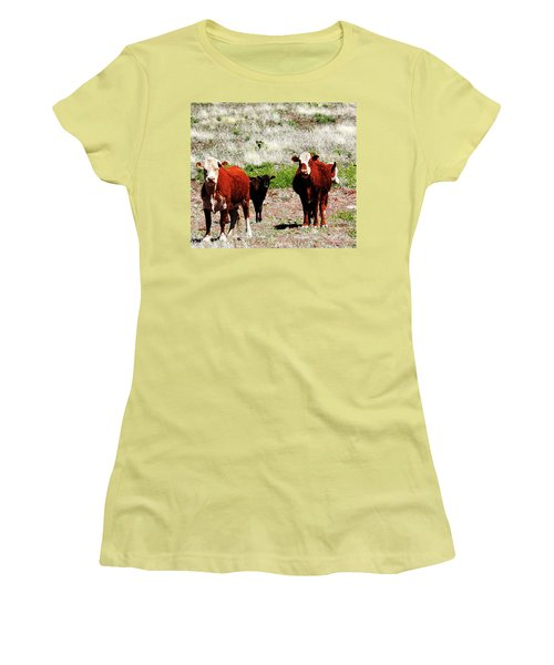 Bovine Women's T-Shirt (Athletic Fit)