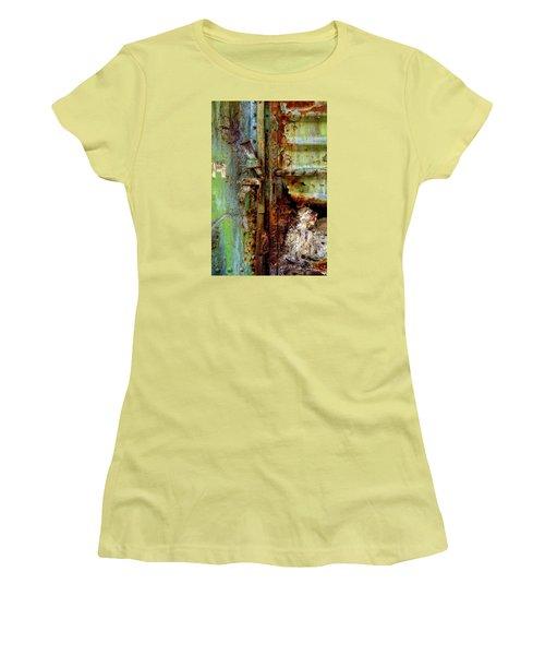 Boxcar 1 Women's T-Shirt (Junior Cut) by Newel Hunter