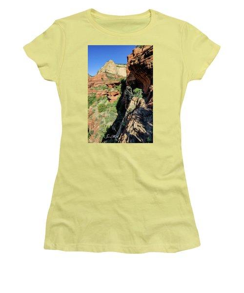 Boynton Canyon 04-420 Women's T-Shirt (Athletic Fit)