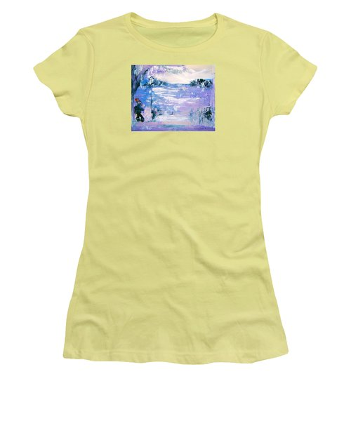 Be Brave By Colleen Ranney Women's T-Shirt (Athletic Fit)