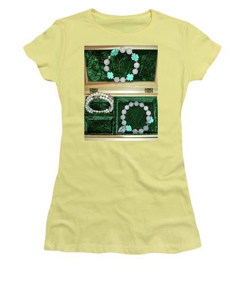 Women's T-Shirt (Athletic Fit) featuring the jewelry Bracelets Of Faith by Michele Myers