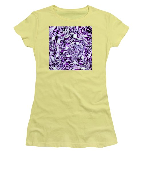 Women's T-Shirt (Junior Cut) featuring the photograph Brain Food by Denise Pohl