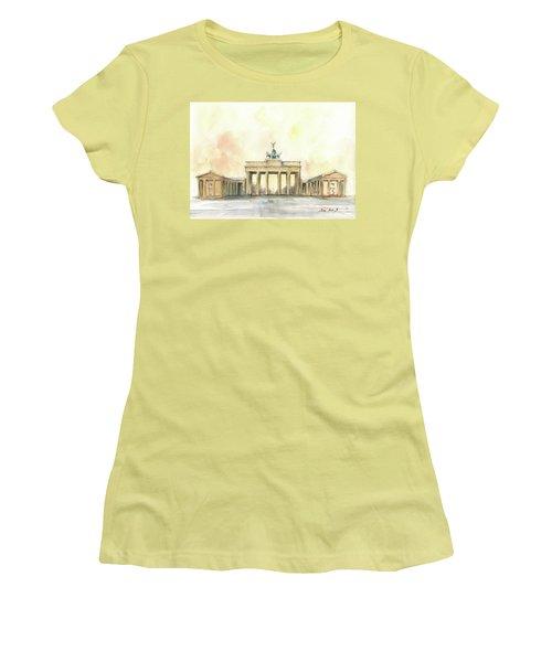 Brandenburger Tor, Berlin Women's T-Shirt (Athletic Fit)