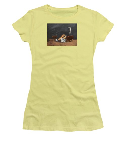 Brandy With Shells Women's T-Shirt (Junior Cut) by Alan Mager