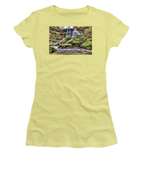 Brandywine Falls Women's T-Shirt (Athletic Fit)