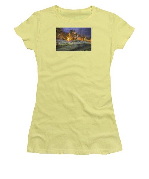 Brattleboro Victorian II Women's T-Shirt (Junior Cut) by Tom Singleton