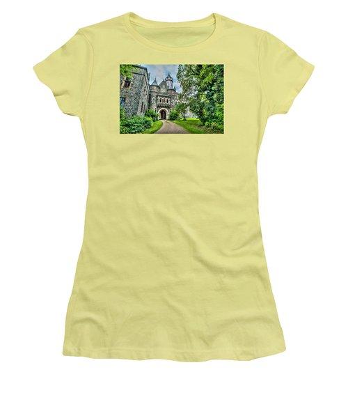 Women's T-Shirt (Junior Cut) featuring the photograph Braunfels Castle by David Morefield