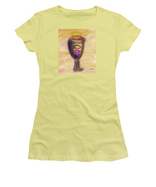 Bread And Wine Women's T-Shirt (Athletic Fit)