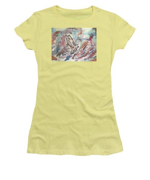 Break Free Women's T-Shirt (Junior Cut) by Jason Nicholas