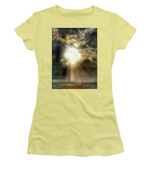 Breaking Through Women's T-Shirt (Athletic Fit)