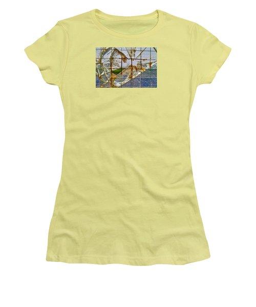 Breakthrough Women's T-Shirt (Junior Cut) by Tgchan