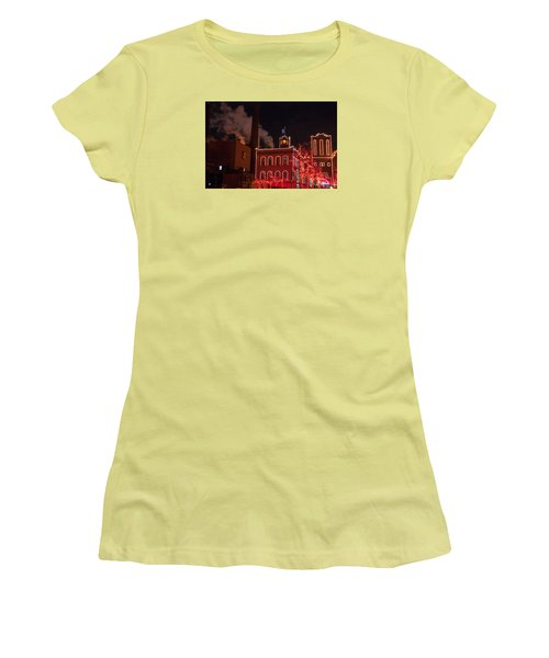 Brewery Lights Women's T-Shirt (Athletic Fit)