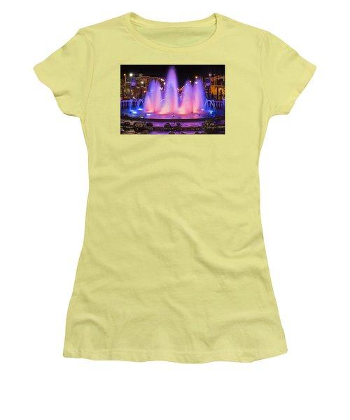 Bricktown Fountain Women's T-Shirt (Junior Cut)