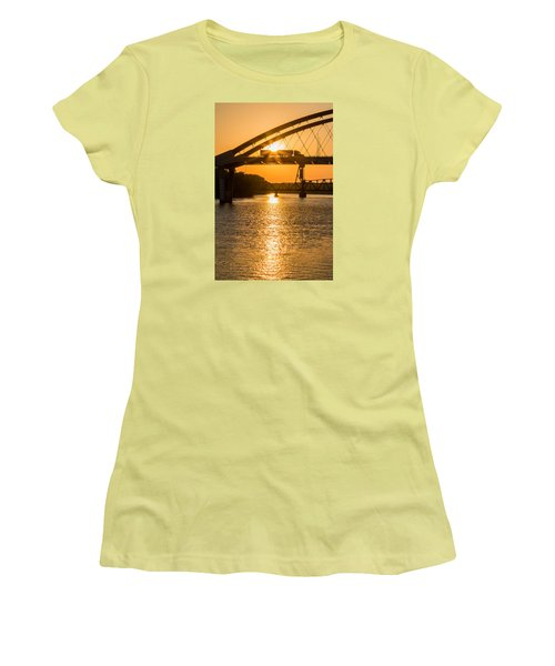 Bridge Sunrise 2 Women's T-Shirt (Athletic Fit)
