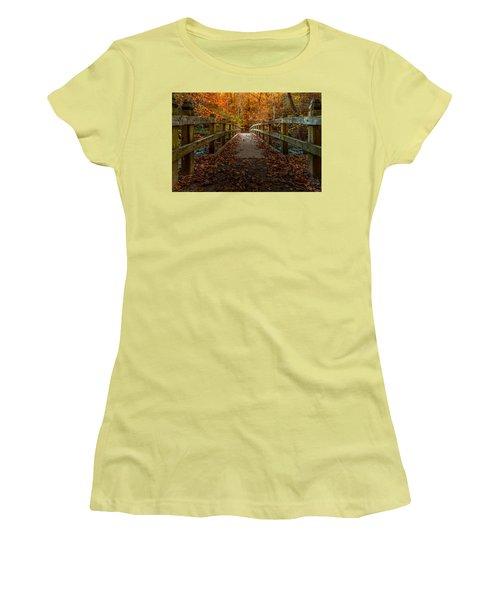 Bridge To Enlightenment 2 Women's T-Shirt (Athletic Fit)