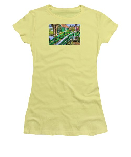 Bridge To The Village Women's T-Shirt (Athletic Fit)