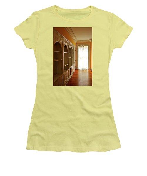 Bright Window Women's T-Shirt (Junior Cut) by Zawhaus Photography