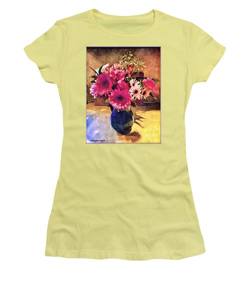 Brithday Wish Bouquet Women's T-Shirt (Athletic Fit)