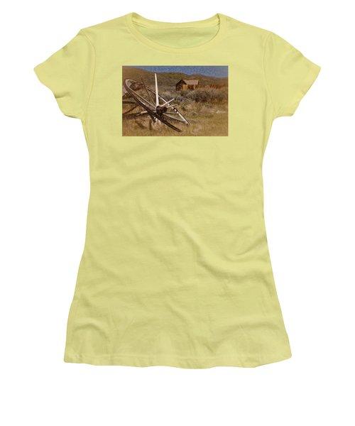 Broken Spokes Women's T-Shirt (Junior Cut)