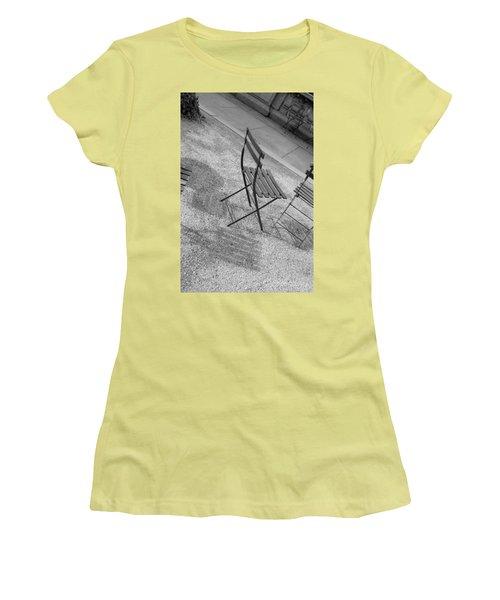 Bryant Park Nyc Women's T-Shirt (Junior Cut) by Henri Irizarri