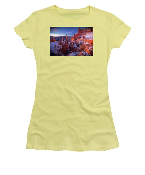 Bryce Tales Women's T-Shirt (Athletic Fit)