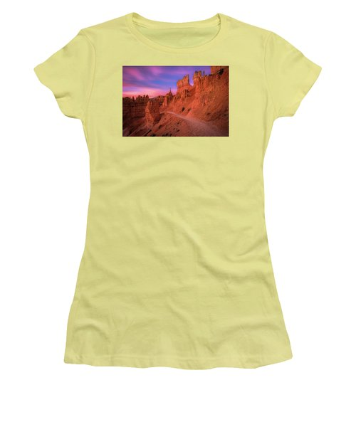 Bryce Trails Women's T-Shirt (Athletic Fit)