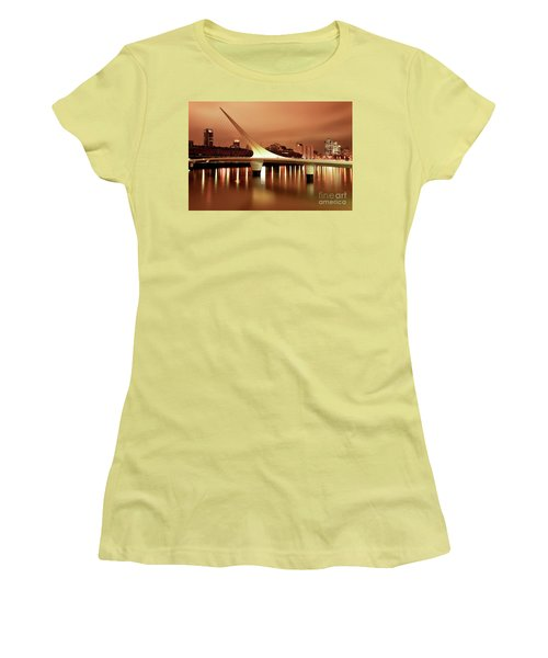 Buenos Aires On Fire Women's T-Shirt (Junior Cut) by Bernardo Galmarini