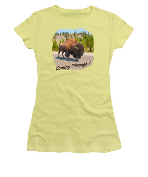 Buffalo Women's T-Shirt (Athletic Fit)