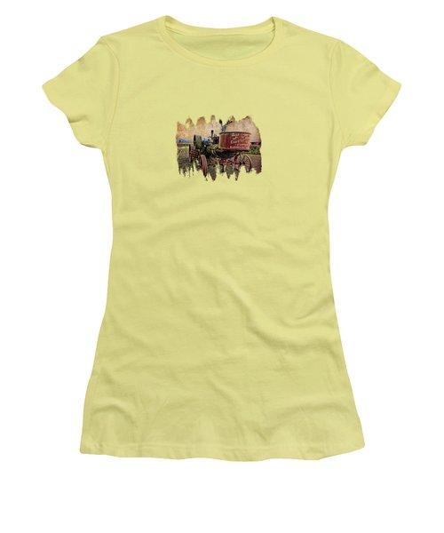 Buffalo Pitts Women's T-Shirt (Junior Cut)