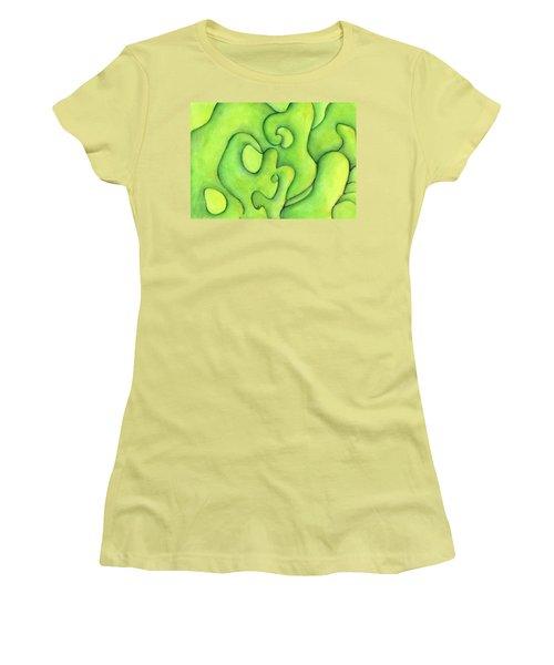 Bulbs Flowing  Women's T-Shirt (Junior Cut) by Versel Reid