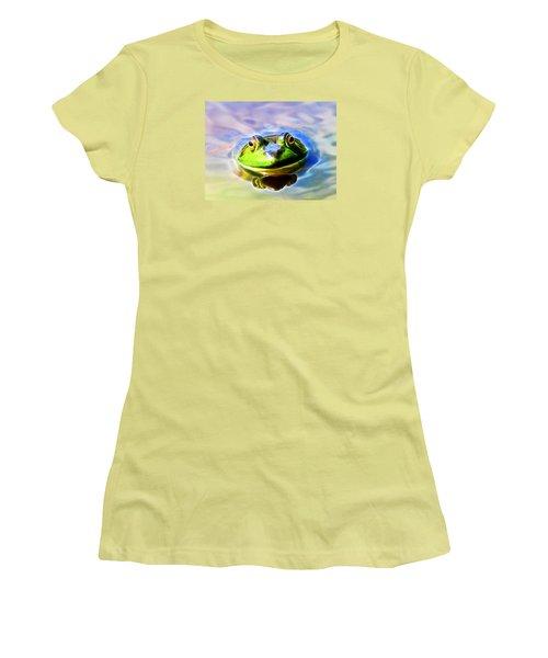 Bullfrog Women's T-Shirt (Junior Cut)