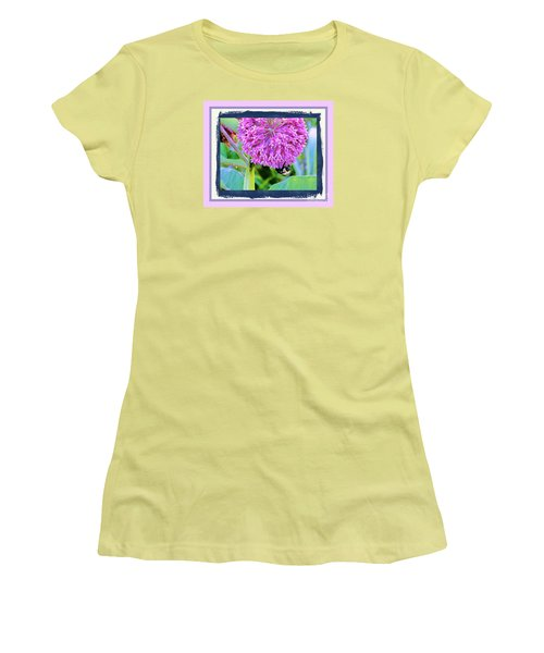 Bumble Bee Cliff Hanger Women's T-Shirt (Athletic Fit)
