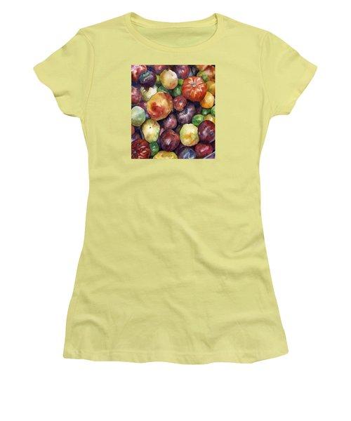 Bumper Crop Of Heirlooms Women's T-Shirt (Athletic Fit)