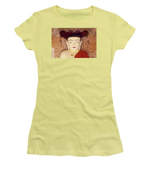 Burma_d2085 Women's T-Shirt (Junior Cut) by Craig Lovell