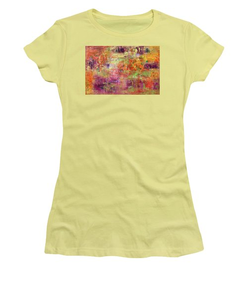 Burning Fire #2 Women's T-Shirt (Athletic Fit)